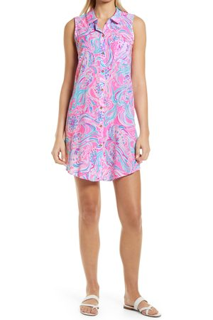Lilly Pulitzer Women's Lilly Pulitzer Natalie Sleeveless Cover-Up Shirtdress