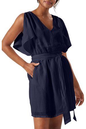 Tommy Bahama Women's St. Lucia Split Sleeve Linen Blend Cover-Up Dress