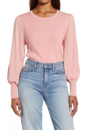 Halogen Women Sweaters - Women's Halogen Puff Sleeve Sweater
