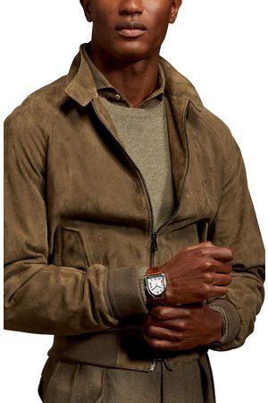 Ralph Lauren Men's Torrence Suede Bomber Jacket