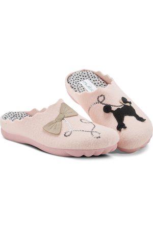Flexus by Spring Step Women's Poodle Scuff Slipper