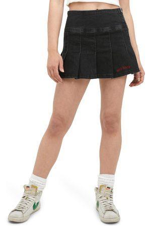 BDG Urban Outfitters Women's Denim Kilt Miniskirt