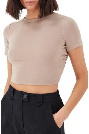 4th & Reckless Women's Claudia Open Tie Back T-Shirt