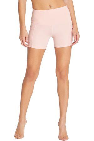 Wild Fox Women's Carly High Waist Pocket Bike Shorts