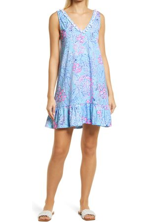 Lilly Pulitzer Women's Lilly Pulitzer Camilla Sleeveless Cotton A-Line Dress