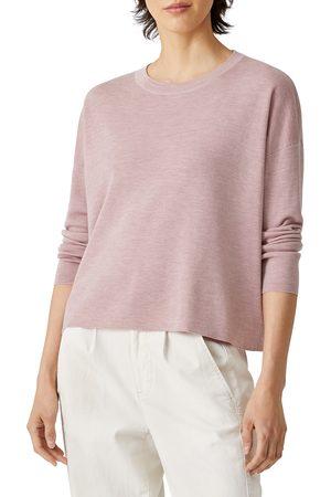 Eileen Fisher Women's Merino Wool Crewneck Sweater