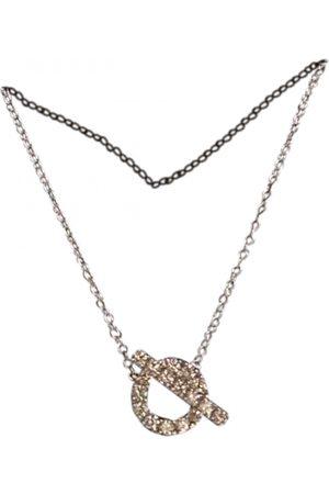 Hermès Finesse white gold necklace
