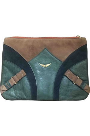 Zadig & Voltaire Leather clutch bag