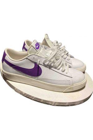 Nike Blazer leather low trainers