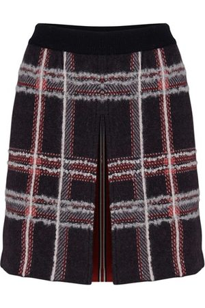 Thom Browne Checked mini skirt