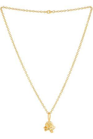 Pamela Card Millefleur Necklace in Metallic