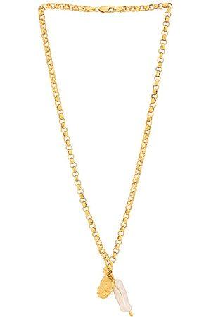 Pamela Card Sacred + Profane Love Necklace in Metallic