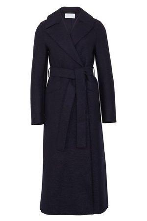Harris Wharf London Women Coats - Pressed wool long coat
