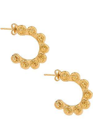 Pamela Card Doni Tondo Earrings in Metallic