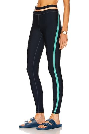 The Upside Play Colour Block Yoga Pant in Navy