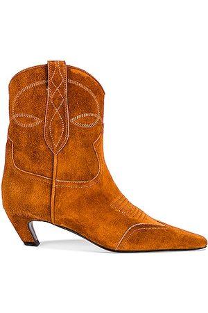 Khaite Dallas Ankle Boots in