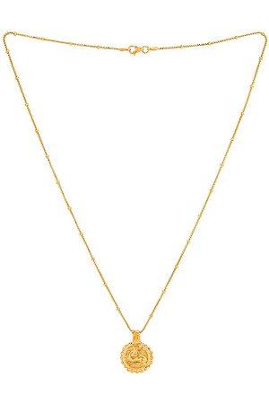 Pamela Card Heavenly Flight Amulet Necklace in Metallic