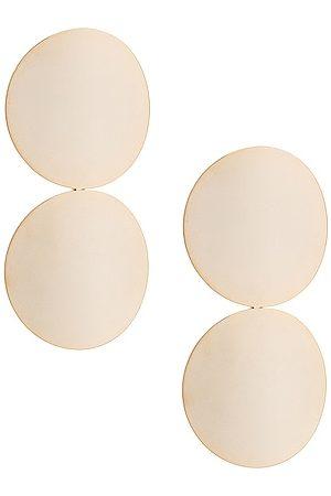 ROSANTICA Pois Earrings in Metallic