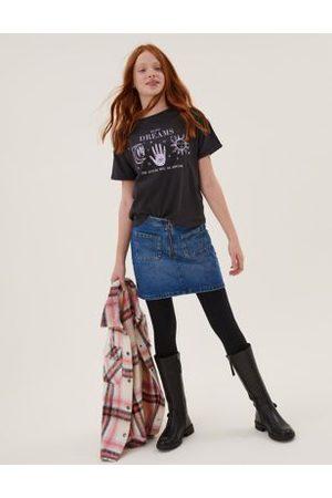 Denim Skirt (6-16 Yrs), Denim