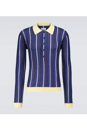 WALES BONNER Uriah knitted polo shirt