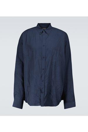 Balenciaga Long-sleeved large-fit shirt