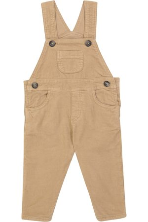 Tartine Et Chocolat Baby cotton corduroy overalls