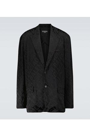 Balenciaga Jacquard printed blazer