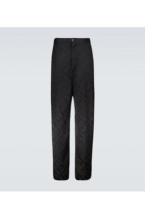 Balenciaga Jacquard printed pants