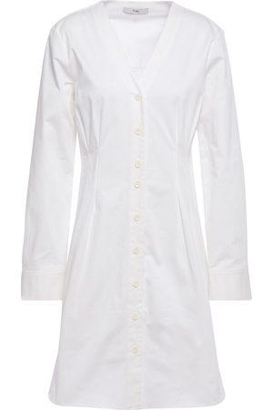 TIBI Woman Dominic Stretch-cotton Twill Mini Shirt Dress Size 10
