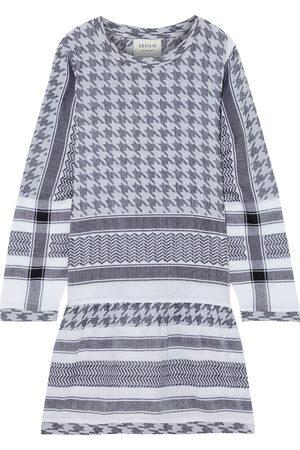CECILIE COPENHAGEN Woman 2 O Cotton-jacquard Mini Dress Size S