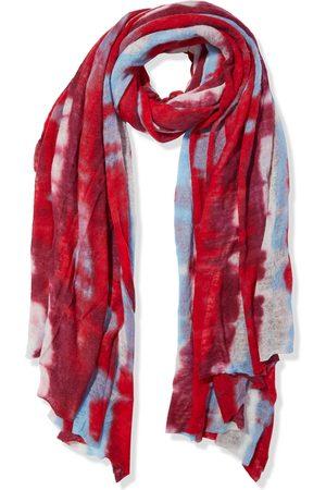 MISSONI Woman Tie-dyed Cashmere Scarf Crimson Size