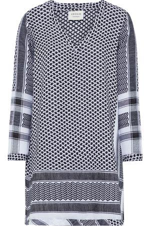 CECILIE COPENHAGEN Woman 1v Cotton-jacquard Mini Dress Size S
