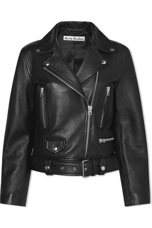 Acne Studios Men Leather Jackets - Biker Jacket
