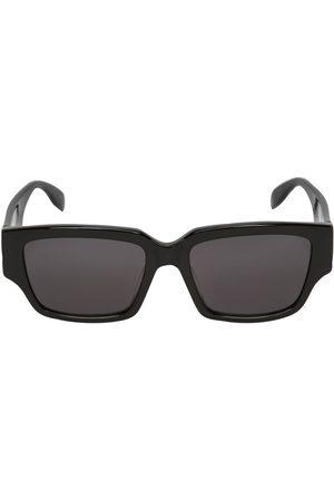 Alexander McQueen Men Sunglasses - Squared Acetate Sunglasses