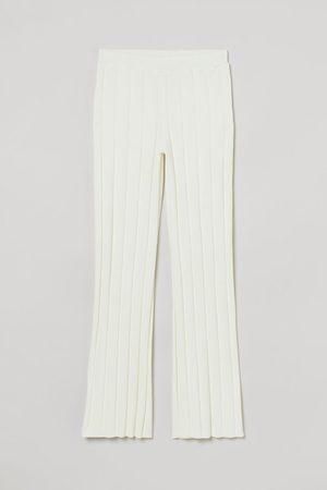 H&M Women Jeans - Rib-knit Pants