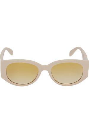Alexander McQueen Women Round - Round Acetate Sunglasses