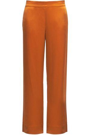 ASCENO The London Silk Pajama Pants