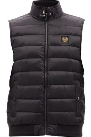 Belstaff Circuit Logo-patch Quilted-shell Down Gilet - Mens