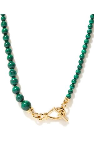 Missoma Malachite & 18kt -plated Necklace - Womens