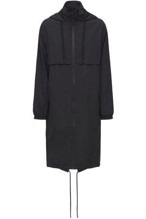 Paco rabanne Nylon Oversized Parka Coat