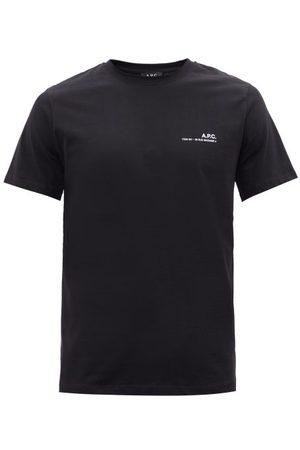 A.P.C. Item Logo-print Cotton-jersey T-shirt - Mens
