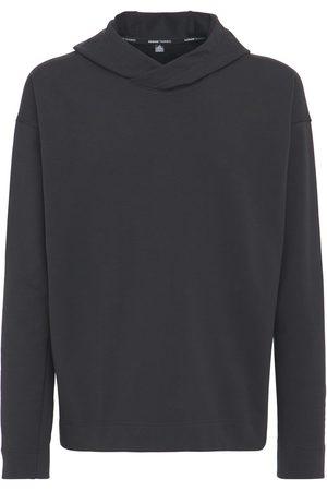 adidas Men Sports Hoodies - Yoga Coverup Cotton Blend Sweatshirt