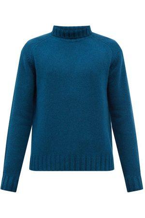 STUDIO NICHOLSON Men Turtlenecks - Toesa Roll-neck Wool Sweater - Mens