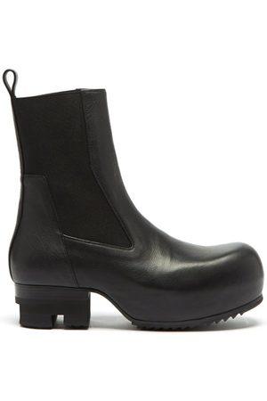 Rick Owens Beatle Ballast Leather Chelsea Boots - Mens