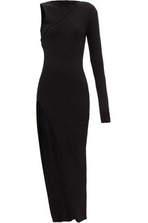 Rick Owens Ziggy Recycled-cashmere Blend Jersey Dress - Womens