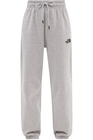 The North Face Oversized Cotton-blend Jersey Track Pants - Womens - Light Grey