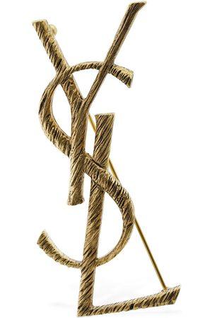Saint Laurent Ysl Monogramme Pin