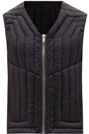 Rick Owens Quilted Down Gilet - Mens