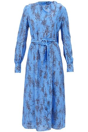 Erdem Women Printed Dresses - Louvenia Ottoline-print Crepe Midi Dress - Womens - Multi