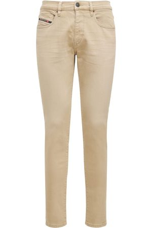 Diesel Men Slim - D-strukt Slim Cotton Denim Jeans